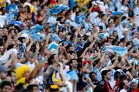 Argentina es el tercer país que más entradas solicitó para Rusia 2018