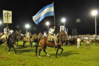 Una multitud asistió al inicio de la Fiesta Nacional de las Destrezas Criollas y el Folklore
