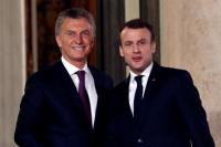 Macri resaltó el acuerdo del Mercosur y la Unión Europea por parte de Macron