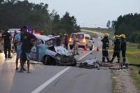 Tragedia en Uruguay: un choque de dos camionetas dejó ocho muertos