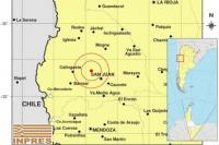 Fuerte sismo alertó a los sanjuaninos este domingo