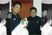 Gran trabajo: dos policías ayudaron a nacer a un bebé en Sarmiento