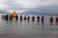 Aguas Abiertas: Cruce inédito al Dique de Ullum, por primera vez en la provincia