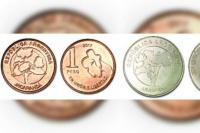 Ya están en circulación las nuevas monedas de 1 y 5 pesos