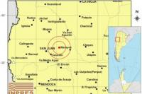 Fuerte temblor en la tarde sanjuanina