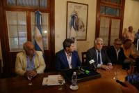 Presentaron los créditos de cosecha y acarreo para el sector olivícola y vitivinícola