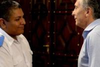 Macri recibió al policía procesado por defender a un turista estadounidense