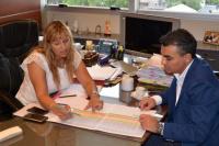 Los intendentes de Chimbas y Jáchal proyectan nuevos servicios en los centros de salud