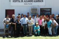 Salud Pública: la Ministra recorrió el departamento Valle Fértil