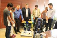 Discapacidad: entregaron elementos para la inclusión social
