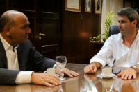 El Gobernador de Tucumán visitó a Uñac