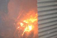 Un incendio asustó a los vecinos del barrio Huarpe
