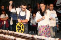 ¡Récord! El salame más largo del mundo es argentino