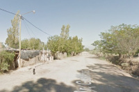 Santa Lucía: una casa se incendió y sus dueños perdieron todo