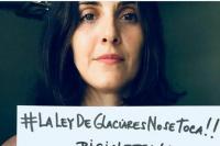 La actriz Julieta Díaz apoyó a la Asamblea Jáchal No se Toca