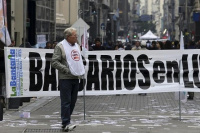 Paro bancario: La Bancaria amenaza con tomar más medidas de fuerza