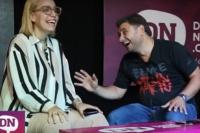 Andrés Chanampa y sus picantes confesiones en el stand de DN