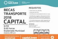 Lanzan los requisitos para inscribirse en la Beca de Transporte 2018