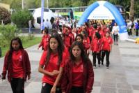 Con la presencia de todas las delegaciones, se presentó el Campeonato Sudamericano Sub 17