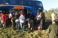 La policía secuestró drogas y armas blancas a hinchas de River, camino a la Supercopa