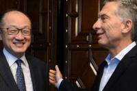 Macri recibió al titular del Banco Mundial en Casa Rosada