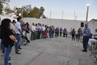 Inauguraron las remodelaciones de la Unión Vecinal de la Villa Lerga