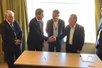 Uñac y Cornejo establecieron acuerdos para fortalecer la industria vitivinícola