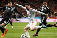España aplastó a la Argentina en Madrid por 6-1