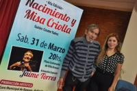 Jaime Torres vuelve a Rawson con la sexta edición de la Misa Criolla