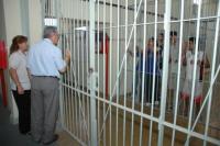 Drama en el Penal: amenazó con matarse si no dejaban salir a su hijo