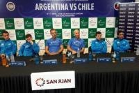 Copa Davis: el equipo argentino atendió a la prensa y respondió todo