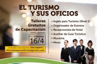 Lanzan nuevos talleres de capacitación en turismo y sus oficios