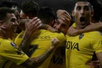 Boca empató en Brasil sobre la hora