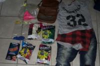 Todo para un cumpleaños: presos por robarse globos y piñatas