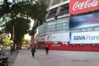 El Monumental cerró sus puertas y el partido con Atlético Tucumán fue suspendido
