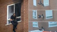 Mató a su mujer, a su suegra y se tiró por la ventana de un octavo piso