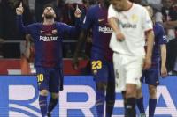 Barcelona aplasta al Sevilla y se queda con la Copa del Rey