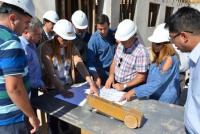 Continúan los avances en la construcción del Hospital San Roque