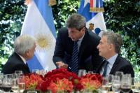 Sergio Uñac junto a Macri y Piñera por el Túnel de Agua Negra