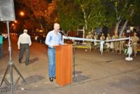 Barrio Porres: inauguraron las obras de pavimentación