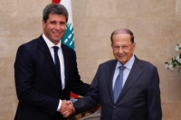 Uñac proyecta la inversión de empresas libanesas en San Juan