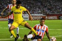 Boca empató en Colombia y ya no depende de si mismo