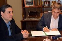 Firman convenio para poner en funcionamiento un nuevo centro de desarrollo infantil