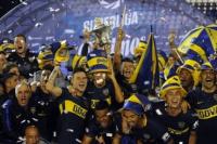 Boca empató con Gimnasia y se consagró bicampeón del fútbol argentino