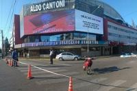 El estadio Aldo Cantoni estará cerrado por 24 horas, previo a la llegada de CFK