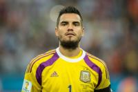 Malas noticias para Sampaoli: Romero se pierde el mundial