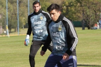 Entrenamiento de la Selección Argentina: lo de Acuña fue sólo un susto