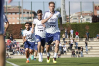 La Selección ya realizó la única práctica del sábado en Barcelona