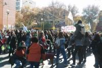 Tras la aprobación de la media sanción, la Plaza 25 de Mayo se tiñó de verde