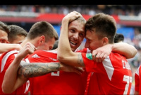 Saquen el vodka: Rusia goleó ¡5-0! a Arabia Saudita
